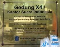 Plakat Kntor Suara Indonesia