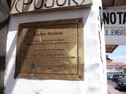 Plakat Kantor Notaris