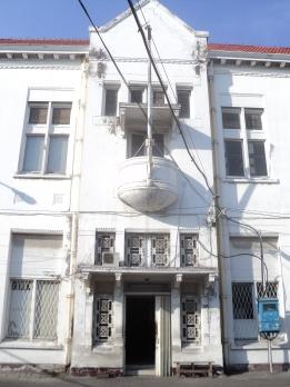 Salah satu balkon Gedung BII